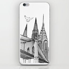 NYC Silhouettes iPhone Skin