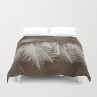 jack frost Duvet Covers featuring frost by Bonnie Jakobsen-Martin