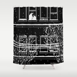 Winter with you Shower Curtain