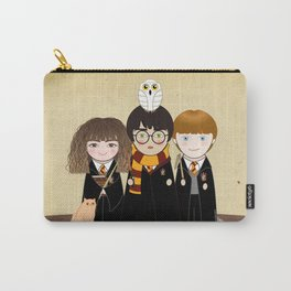 Kokeshis Hermi, Harry and Ron Carry-All Pouch