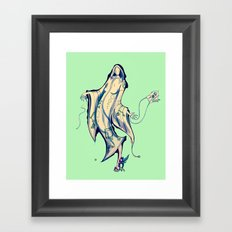 Gshhhh Framed Art Print