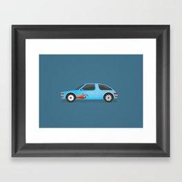 Mirthmobile Framed Art Print