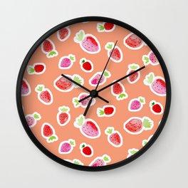 Strawberry Wall Clock