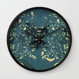 Birds nest Wall Clock
