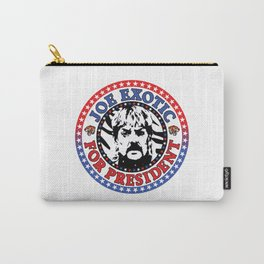 Joe Exotic For President Carry-All Pouch