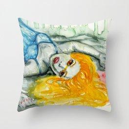beautiful creature Throw Pillow