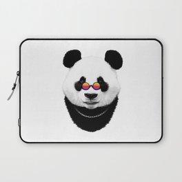 Panda hippie Laptop Sleeve