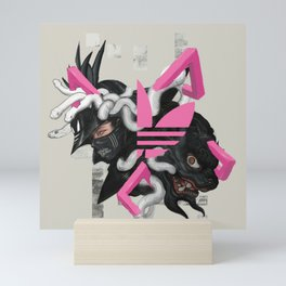 Three Stripes Hunter Mini Art Print