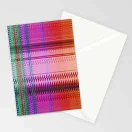 Multicolored pattern no.32 Stationery Cards
