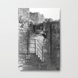 Castles of the Past Metal Print
