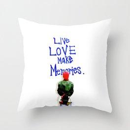 Live Love Make Memories, G-Dragon... Throw Pillow