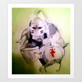 Alphonse Elric Art Print