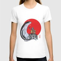 aang T-shirts featuring Aang in the Avatar State by Tom Ledin