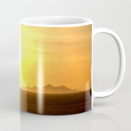 Sunset and Vestmannaeyjar Coffee Mug
