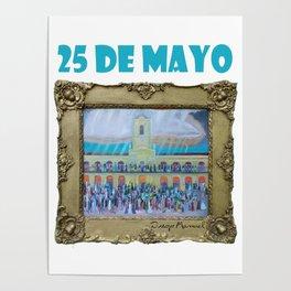 25 de mayo de 1810 III , por Diego Manuel Poster