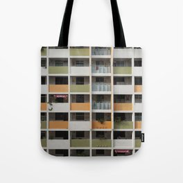 Cube House II Tote Bag