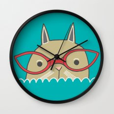 Not If I See You First Wall Clock