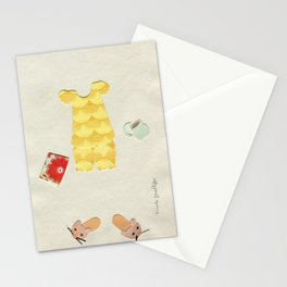 Pajama Outfit Stationery Cards