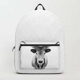 Honey - black and white Backpack