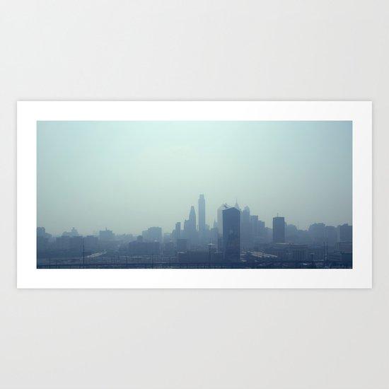 Philly Fog Art Print