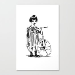 The Little Ghost T-shirt Canvas Print