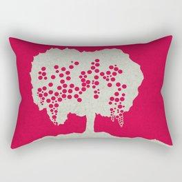 Fruit Tree Series, Red III Rectangular Pillow
