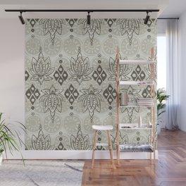 lotus diamond linen Wall Mural
