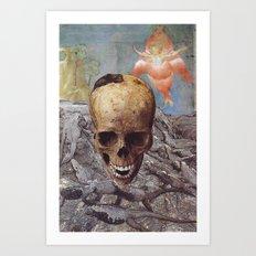 Collage #24 Art Print