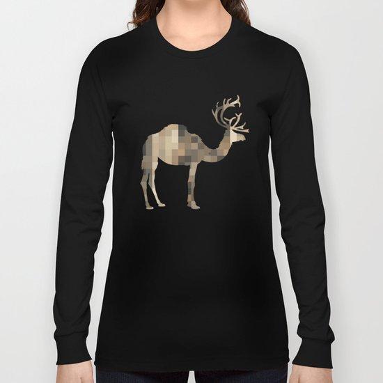 FabCreature · CaDeerPa 7 Long Sleeve T-shirt