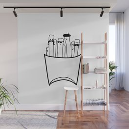 French Gentlefries Wall Mural