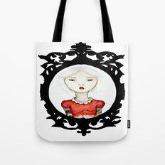 Just a portrait Tote Bag