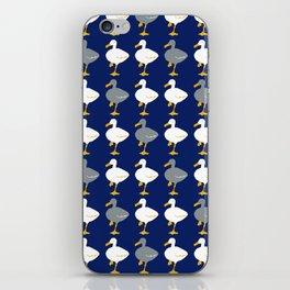 Duck, Duck, Gray Duck iPhone Skin