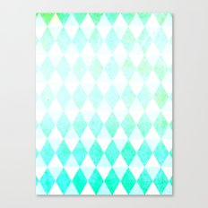 Spring Triangles Canvas Print