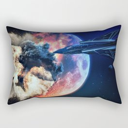 moon explosion Rectangular Pillow