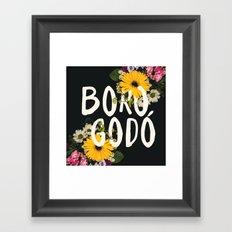 Borogodó Framed Art Print