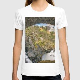 Pont Pen y Benglog Bridge Snowdonia T-shirt