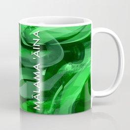 MALAMA AINA - TYPOGRAPHY Coffee Mug