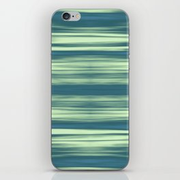 Abstraction Serenity in Afternoon at Sea iPhone Skin