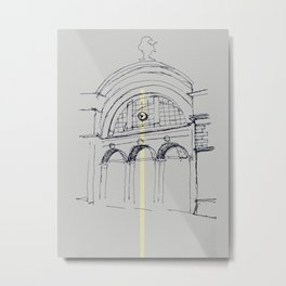 bahnhof Metal Print
