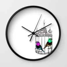 KGBirds Wall Clock