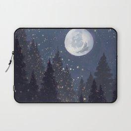 Full Moon Landscape Laptop Sleeve