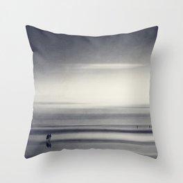 new start Throw Pillow