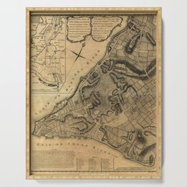 Map of New York (1766) Serving Tray