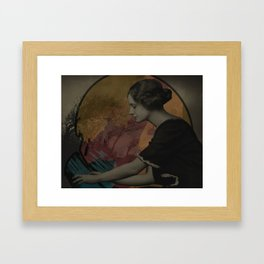 Conjure the Moon Framed Art Print
