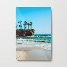 Crescent Bay Metal Print