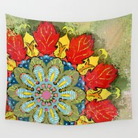 tequila Wall Tapestries featuring Tequila Sunrise by Renee Ciufo