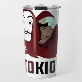 la casa de papel tee shirt TOKIO Travel Mug