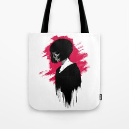 Red Anomie Tote Bag