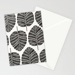 Elephant Ear Alocasia – Black Palette Stationery Cards