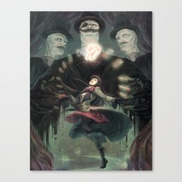 THE RIFLE'S SPIRAL Canvas Print